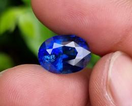 TOP QUALITY 8.48 CTS NATURAL STUNNING ROYAL BLUE SAPPHIRE SRI LANKA