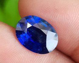TOP ROYAL BLUE COLOR 5.42 CTS NATURAL STUNNING SAPPHIRE SRI LANKA