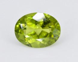 1.96 Crt Peridot Faceted Gemstone (Rk-73)