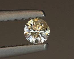 .11CT 3.42mm NATURAL WHITE DIAMOND $1NR!