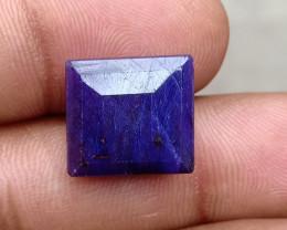 16.90 CT BLUE SAPPHIRE BIG NATURAL GEMSTONE Treated VA5271