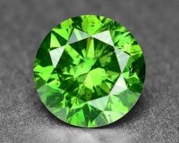 0.51 Sparkling Rare Fancy Intense Green Color Natural Loose Diamond