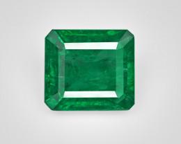 Emerald, 4.39ct - Mined in Zambia | Certified by IGI