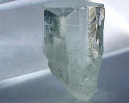 11.15 CT Natural - Unheated Blue Aquamarine Crystal Rough