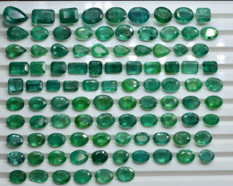 AAA Grade Top Color 115.80 ct Zambian Emerald ~ LOT