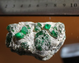 Emerald Crystals, Specimen, Mingora Mines, Swat Valley, North Pakistan, May