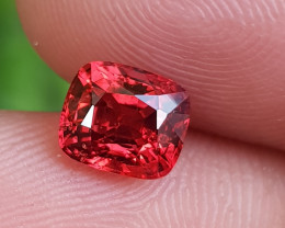 NO TREAT 1.39 CTS NATURAL STUNNING PIGEON RED SPINEL FROM BURMA