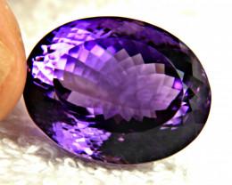 63.92 Carat Purple Brazil VVS Amethyst - Gorgeous
