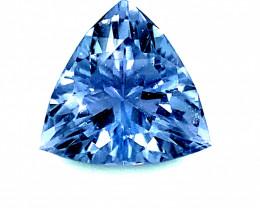 Blue Spinel .55ct, Natural, Untreated, Tunduru, Tanzania, Trillion, VVS Cla