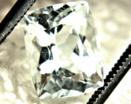 3.12 Carat Silver Blue Himalayan VS/SI Aquamarine - Gorgeous