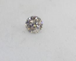 0.24ct White Diamond , 100% Natural Untreate