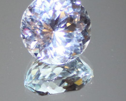 Aquamarine 14.70ct Natural Untreated Round VVS Clarity