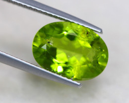 4.74ct Natural Green Peridot Oval Cut Lot GW7658
