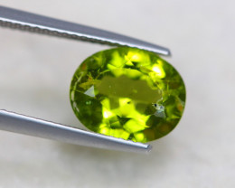 3.25Ct Natural Green Peridot Oval Cut Lot LZ5922