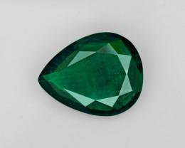 Emerald, 12.41ct-Mined in Brazil