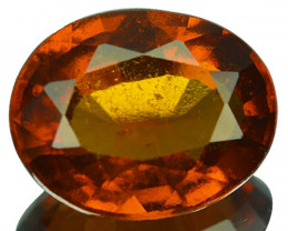 2.25 Cts Natural Cinnamon Orange Hessonite Garnet Oval Cut Sri Lanka