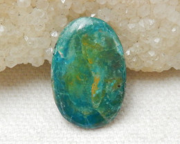 9cts Blue Opal Cabochon, October Birthstone, Blue Opal Bead F39