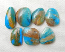 46cts Blue Opal Cabochons, October Birthstone, Blue Opal Bead F44