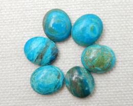 19.5cts Blue Opal Cabochons ,Handmade Gemstone ,Lucky Stone F84