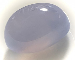 28.09ct Translucent Chalcedony gem Cabochon - no reserve ~