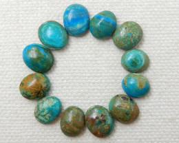 20cts Blue Opal Cabochons ,Handmade Gemstone ,Lucky Stone F76