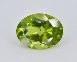 2.27 Crt Peridot Faceted Gemstone (Rk-74)