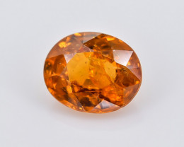 1.06 Crt Spessartite Garnet Faceted Gemstone (Rk-74)