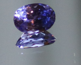 Tanzanite 1.35ct Natural Oval VVS/IF Clarity