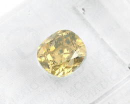 Natural Fancy Deep Orange Yellow Diamond GIA certified