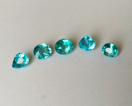 5 Apatite - 6.15cts - Brazil - Untreated