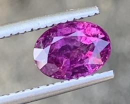 GFCO Certified 1.88 Carat Ruby Gemstones From KASHMIR PAKISTAN