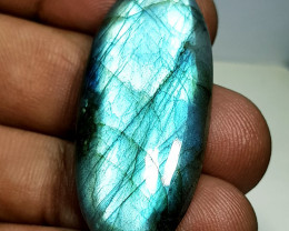 35.90 ct Natural Labradorite Oval Cabochon  Gemstone
