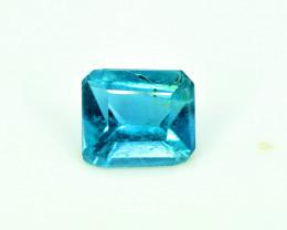 0.80 Carats Natural Indicolite Tourmaline Gemstone