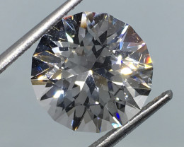 16.30 Carat VVS Topaz Nigerian Master Cut  Diamond White Color WOW !