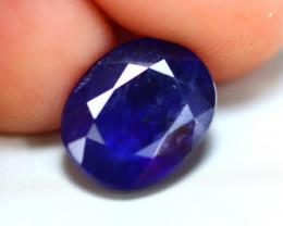 Ceylon Sapphire 3.50Ct Royal Blue Sapphire E0236