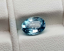 1.75Crt Blue Zircon Natural Gemstones JI75