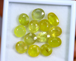 36.52cts Yellow Colour Sapphire Lots / RD312