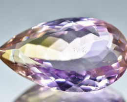 13.63 Crt Natural Ametrine Faceted Gemstone.( AB 20)
