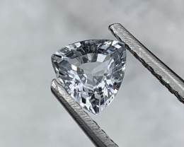 1.35 Carats Unheated/Untreated Natural Sapphire Sky Blue Fancy Cut