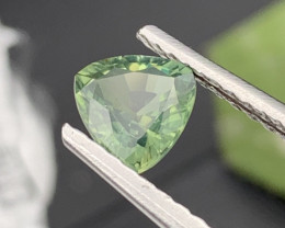 VVS Quality Sea Green Unheated/Untreated Natural Sapphire 1.40 Cts