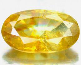 ~RARE~ 1.05 Cts Natural Orangesh Yellow Sphalerite Oval Cut Spain