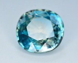 Vibrant Blue ~ 9.45 Ct Natural Zircon From Cambodia