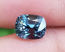 NO TREAT 1.64 CTS NATURAL STUNNING BLUISH GRAY SPINEL FROM BURMA