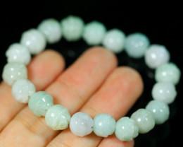 Natural Jadeite Jade Bracelet