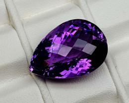 18.45Crt Natural Amethyst  Natural Gemstones JI76