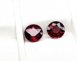2Crt Rhodolite Garnet  Natural Gemstones JI76