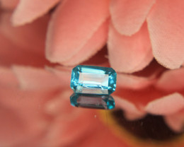 Rare Blue Apatite Gemstone