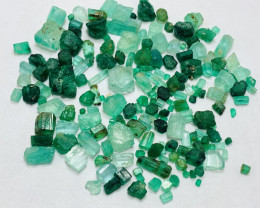 68 carats mix lot of swat and panjshir mine Rough Emerald Parcel
