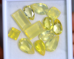 22.30cts Natural Brazil  YEllow Fire Opal Lots / RD353