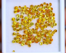 14.36cts Natural Yellow Colour Sapphire Lots/ RD357